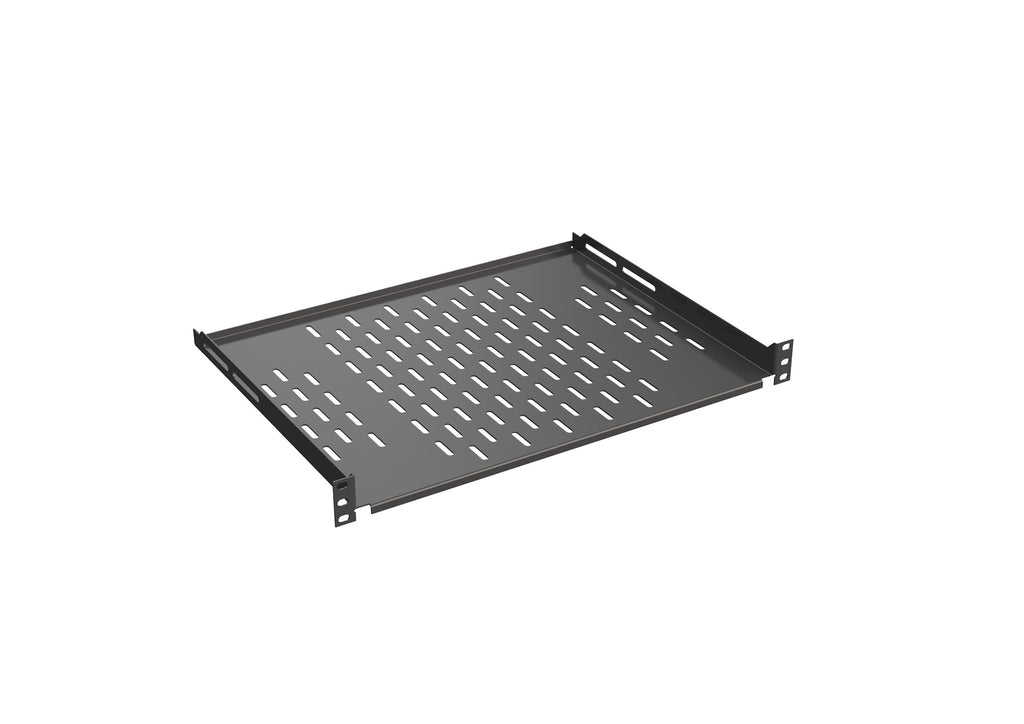 "4SH-L350 19"" Shelf 4X, Depth 350mm, Load rating 20kg, RAL9005"