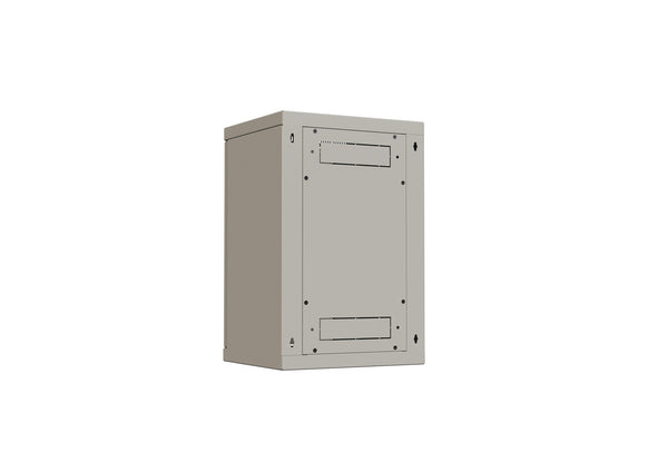 "10"" Wall-mount rack 4X SOHO, 9U, 300x260mm, Load rating 20kg"