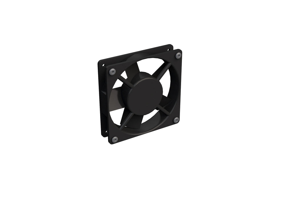 4VE-01 Ventilation fan 4X without Thermostat. 1-fan, for 4X Wall-mounts (Top)