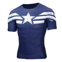 The Quick Dry Captain America Fitness Tee