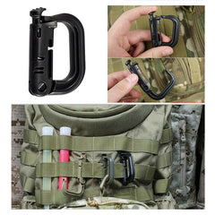 The Tactical Backpack Carabiner Snap