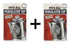 2 pack Fitz-All Replacement Percolator Top, Small (2)