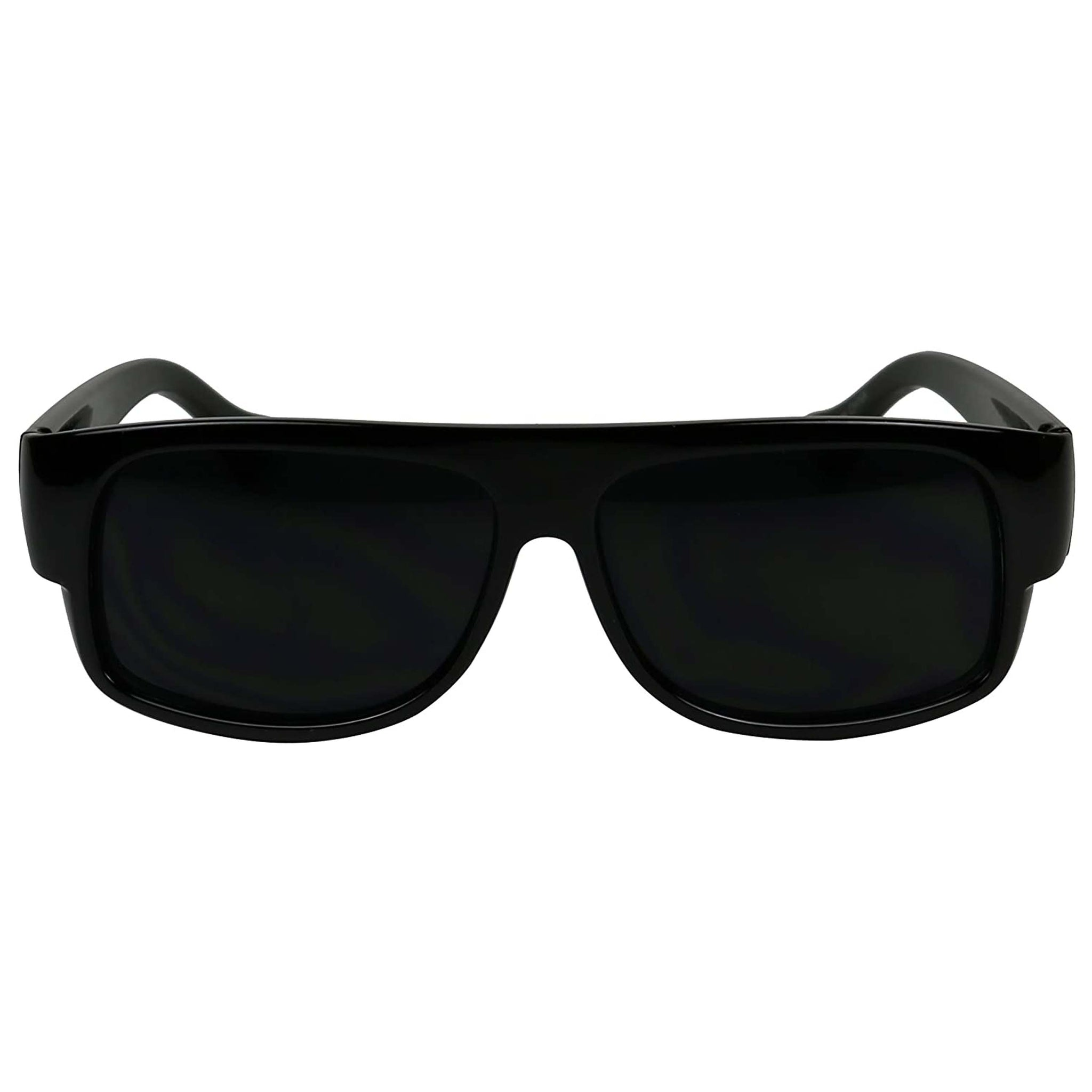 TYLER Oval Flat Top Locs Style Sunglasses UV Protection Vintage Eazy E Old School Gangsta Shades - ShadyVEU