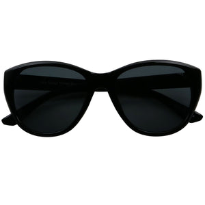 EMMA Polarized Classic Cat Eye Sophisticated Chic Sunglasses - ShadyVEU