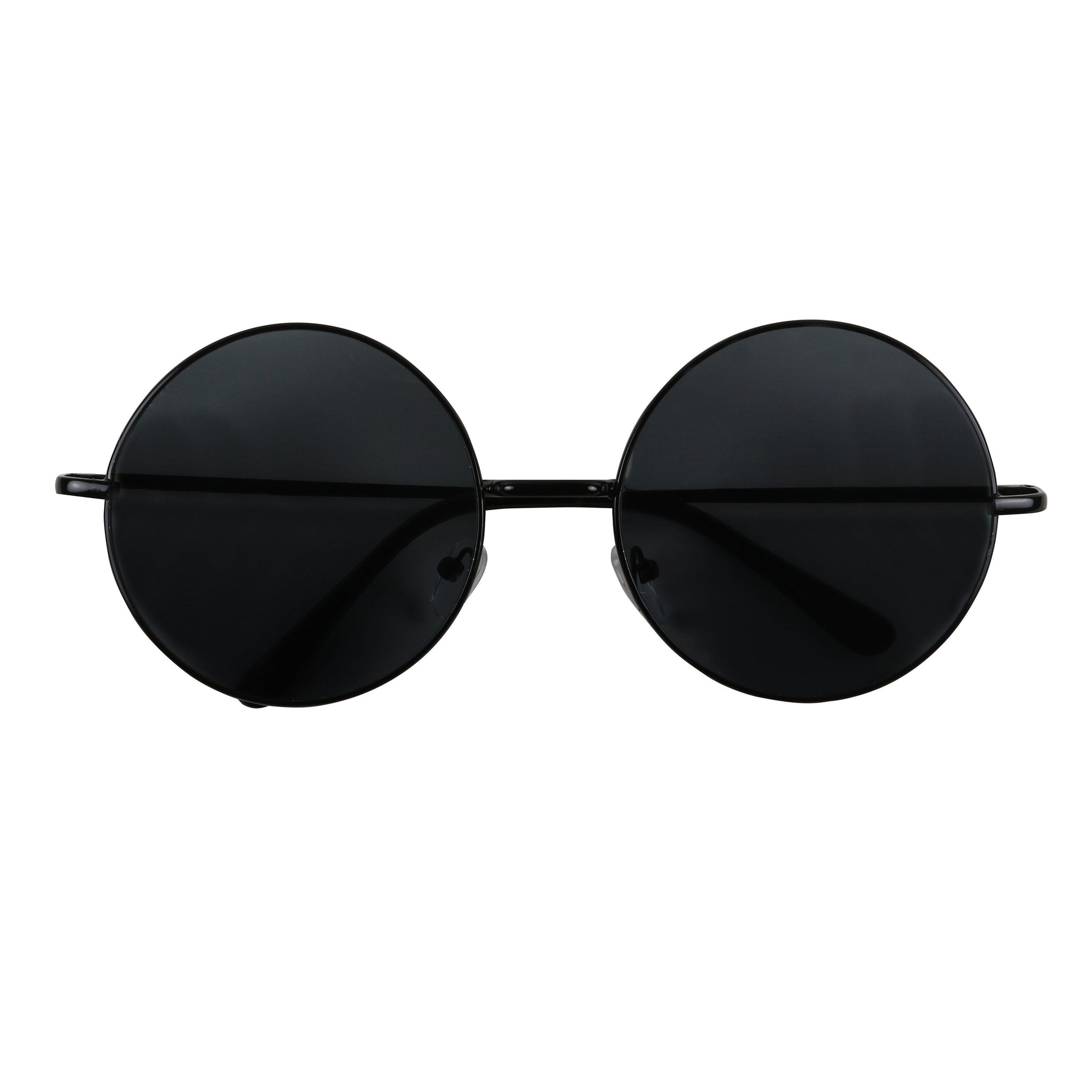 ADAM Extra Large Round Hipster Style Metal Sunglasses - ShadyVEU