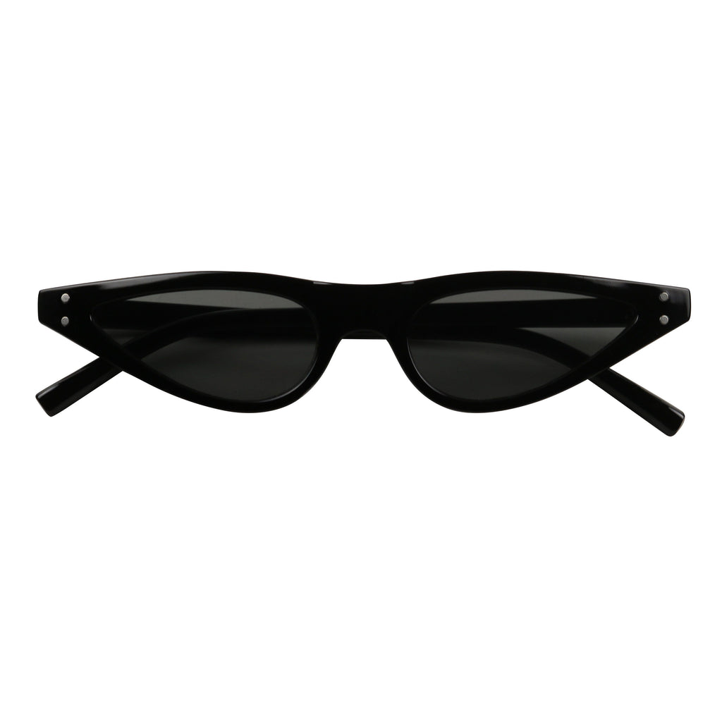 86a8be92d9d ... RICHIE Retro Funk Flat Top Hot Tip Pointed Cat Eye Sunglasses - ShadyVEU  ...