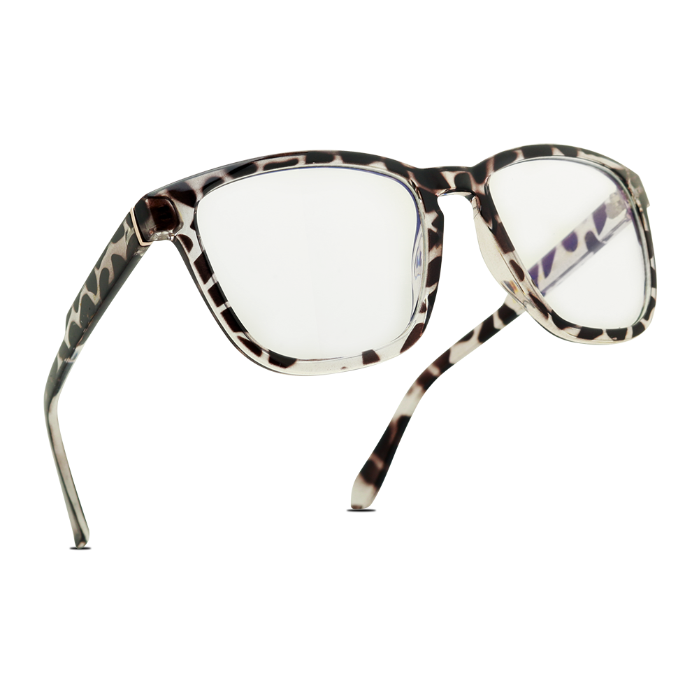 ANNA Square Fashion Classic Retro Computer Blue Light Blocking Glasses
