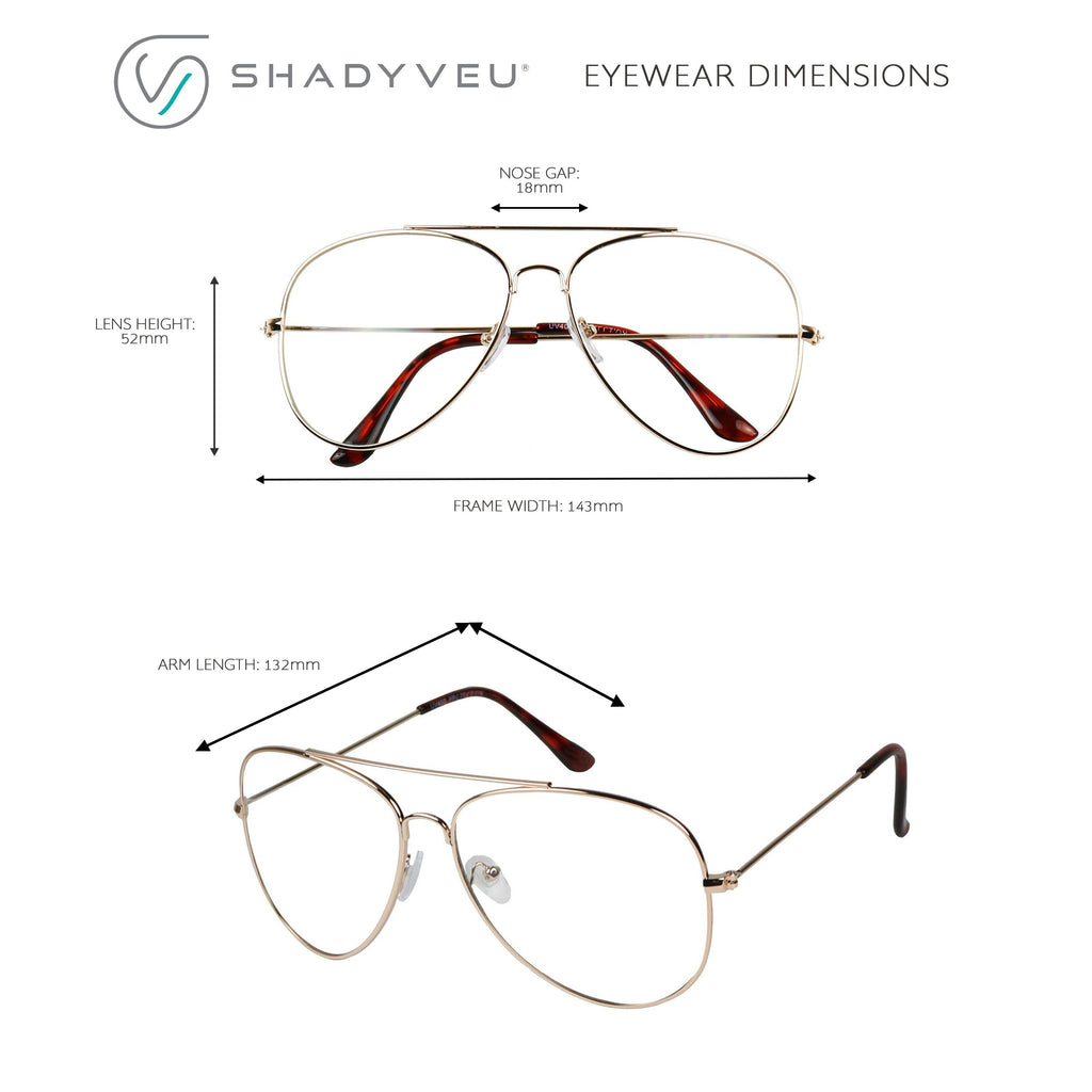 cd946834775 ... LACY Gold Metal Frame Teardrop Shaped Favorite Clear Glasses - ShadyVEU  ...