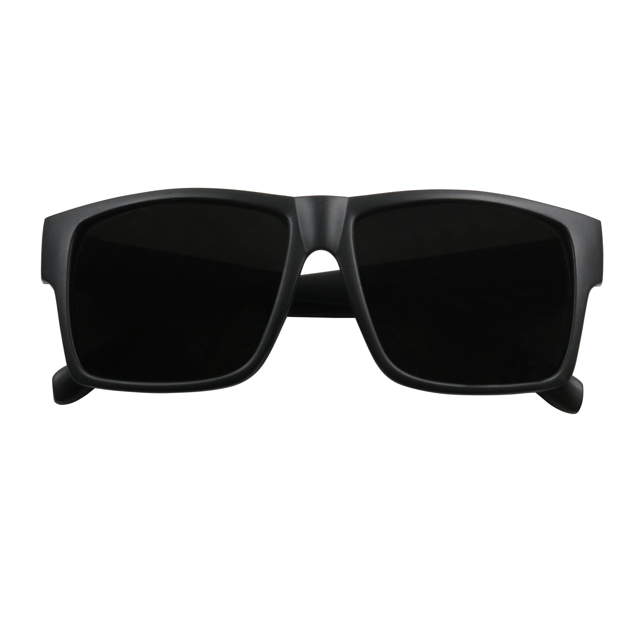 GUY Super Dark Retro Frame Sunglasses - ShadyVEU