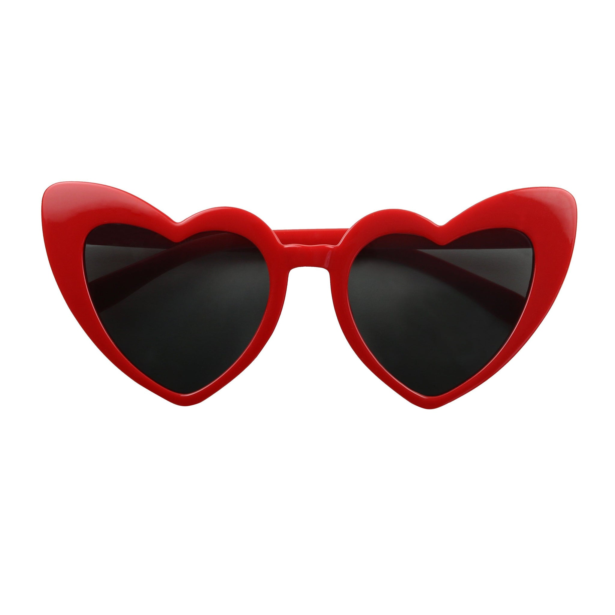 SAINT Heart Shaped Oversized Tinted Sunglasses - ShadyVEU