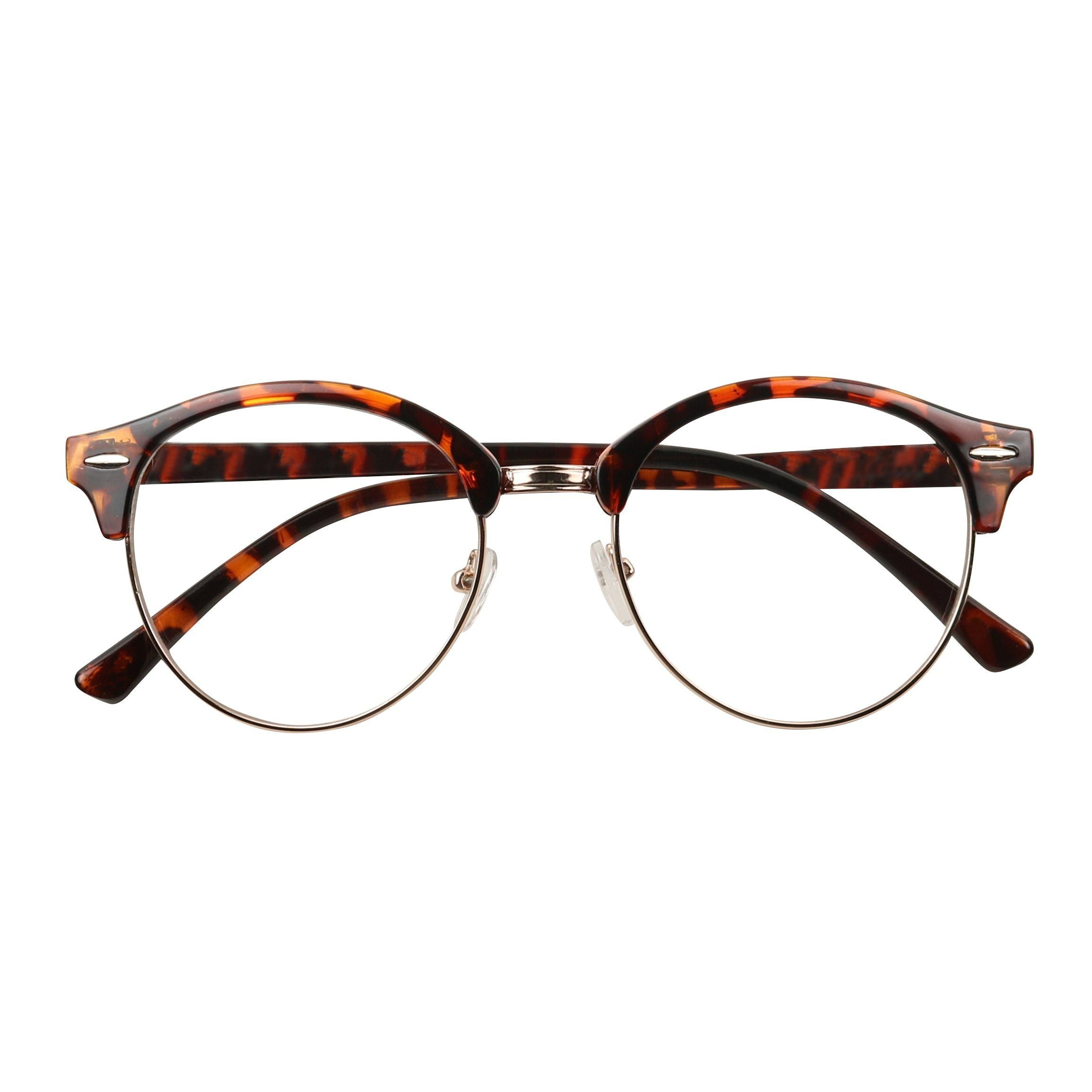 c6fc6a1fc7d0f HOLLY Round Retro 1980 s Hipster Circle Vintage Clear Lens Glasses -  ShadyVEU ...