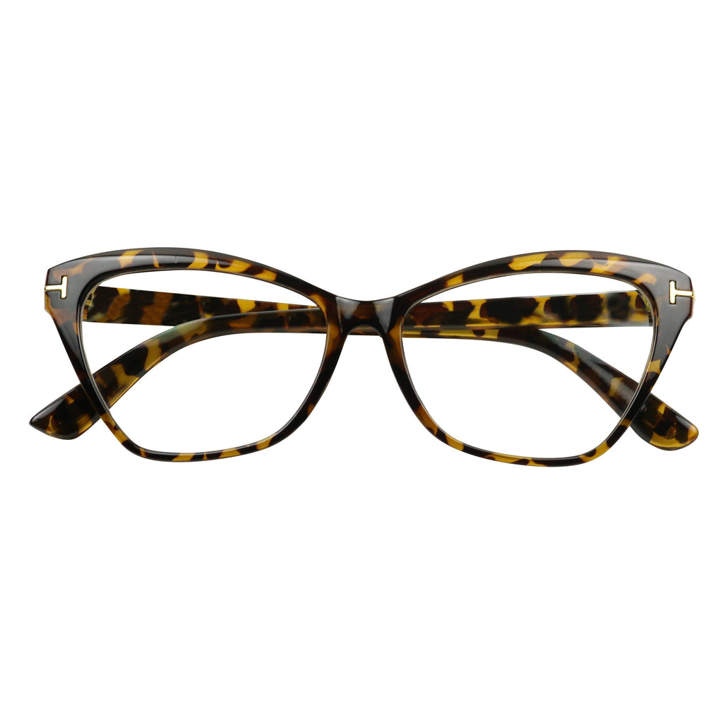 719f6baab83 ... LEXY Sophisticated Cat Eye Chic Vintage Designer Clear Lens Glasses -  ShadyVEU ...