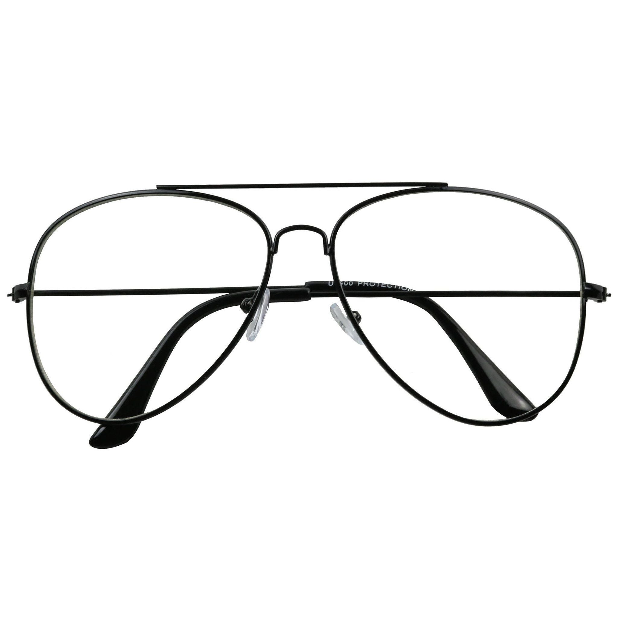 b204190c7d ... LACY Gold Metal Frame Teardrop Shaped Favorite Clear Glasses - ShadyVEU  ...