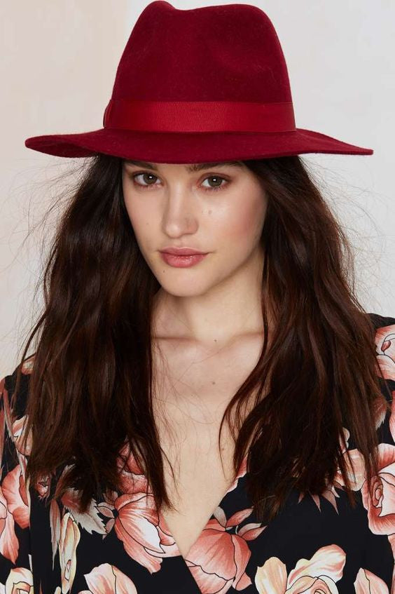 tiger mist, free people, nasty gal, revolve clothing, cheap, sale, discount, promo, sexy, women's apparel, hat, wool, wide brimmed hat urban outfitters