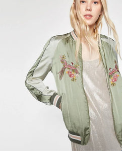 Autumn Dream Bomber Jacket