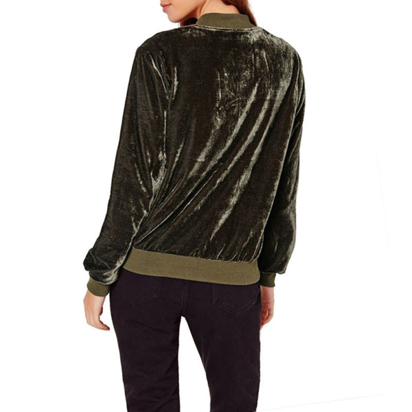Velvet Home Run Jacket