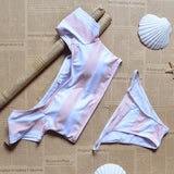 The Candy Striper Bikini Set