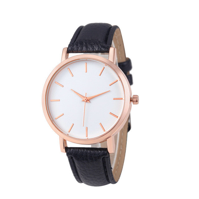 Classic Rose Gold Watch