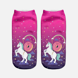 Unicorn socks, rock out, pair, set, unicorns, real, believe, fun, cute, asos, cheap sale promo discount, asos, nasty gal, unicorn festival co, festival,
