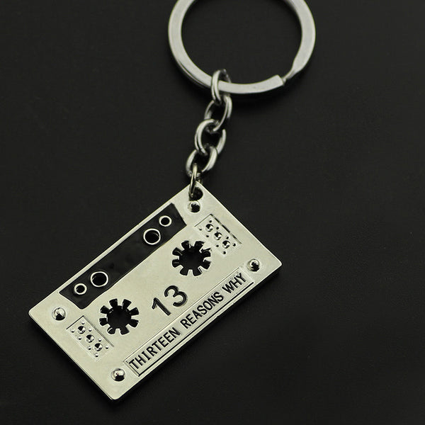 13 Reasons Why Keychain