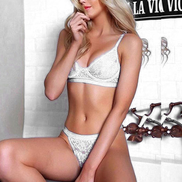 The Lace Lounge Set