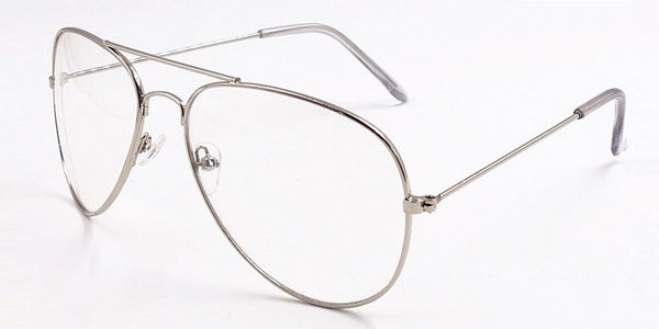 Aviator Clear Frames