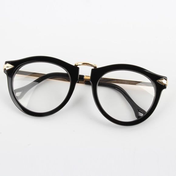 Retro Allie Clear Frames