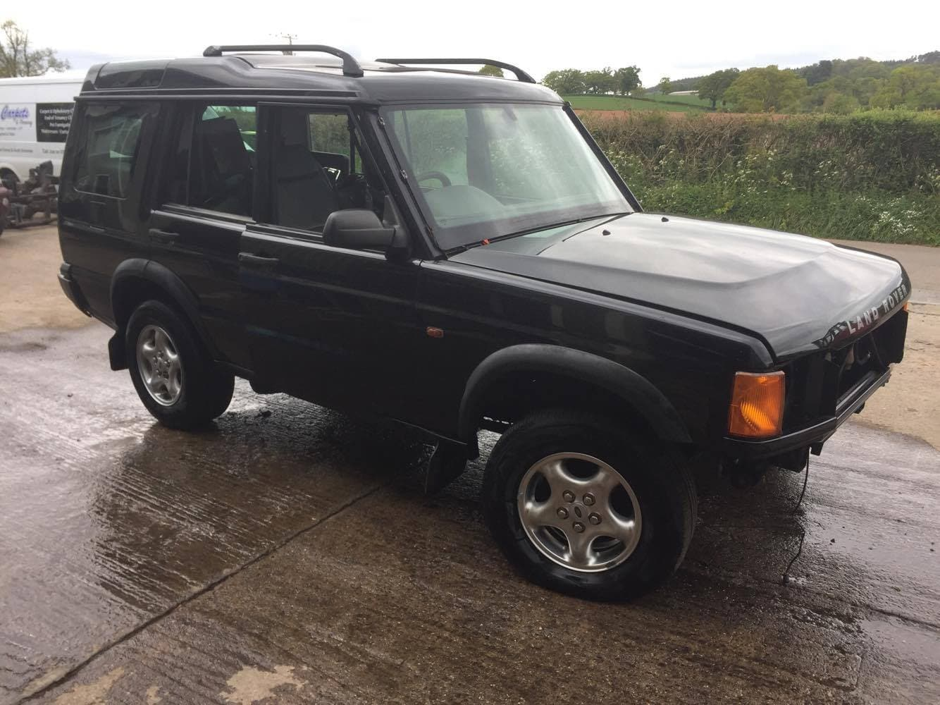 2000 LAND ROVER DISCOVERY 2 - 2.5L TD5 ES MANUAL