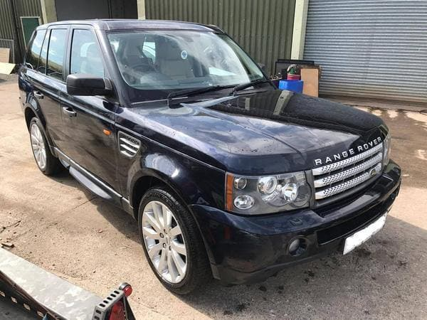 CURRENTLY BREAKING... 2006 RANGE ROVER SPORT 4.2 V8 SUPERCHARGED AUTO BLACK
