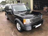 CURRENTLY BREAKING... 2008 LAND ROVER DISCOVERY 3 - 2.7 TDV6 XS MANUAL BLACK