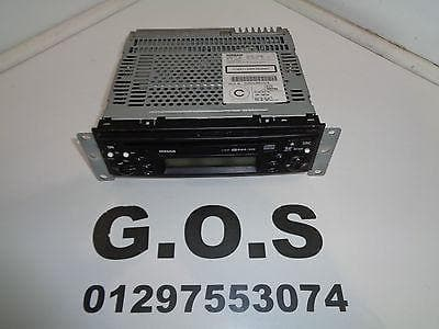 2003 - 07 NISSAN X-TRAIL CD PLAYER HEAD UNIT PP-2424T CD 28185EQ300 XXX