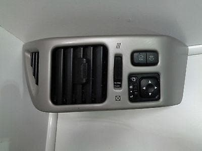 MITSUBISHI SHOGUN PAJERO MK3 SILVER EFFECT DASH FACIA PANEL & VENT MIRROR SWITCH