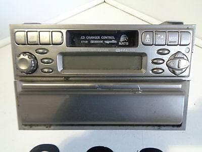 02 04 nissan x trail t30 pre facelift radio cassette - Nissan uk head office telephone number ...