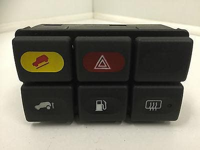 1998 - 2002 LAND ROVER DISCOVERY 2 DASH SWITCH PACK HDC SCREEN FUEL HAZARD RAISE