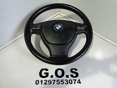 2009 - 15 BMW F01 F02 7 SERIES SE LEATHER STEERING WHEEL MULTI FUNCTION
