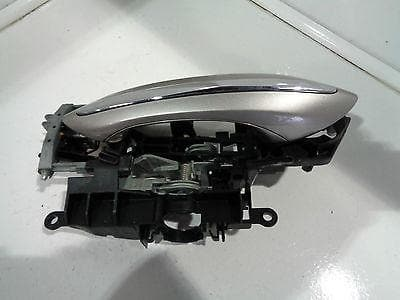 2009-15 BMW F01 F02 7 SERIES NSF NEAR SIDE FRONT DOOR HANDLE A72 CASHMERE SILVER
