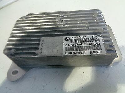 2008  BMW F01 F02 7 SERIES 730d CHASSIS MANAGEMENT CONTROL MODULE 6786270 TEMIC