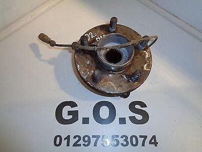 1998 - 2004 LAND ROVER DISCOVERY 2 OSR HUB WITH ABS SENSOR RIGHT REAR OFF SIDE