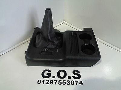 MITSUBISHI SHOGUN PAJERO MK3 MANUAL GEAR STICK SURROUND TRIM WITH CUP HOLDERS