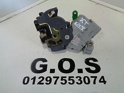 2001 -07 NISSAN X-TRAIL T30 NEAR SIDE REAR DOOR LOCK ACTUATOR SOLENOID MOTOR NSR