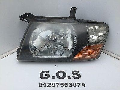 1999 - 2003 MITSUBISHI SHOGUN MK3 NEAR SIDE HEADLIGHT HEAD LAMP PRE FACELIFT NSF