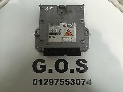 2004 - 2007 NISSAN X-TRAIL 2.2 DCI T30 MAIN ENGINE ECU B371M EQ44B #