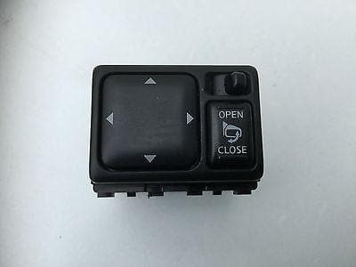 2004 - 2007 NISSAN X-TRAIL T30 ELECTRIC MIRROR SWITCH CONTROLLER POWER FOLD
