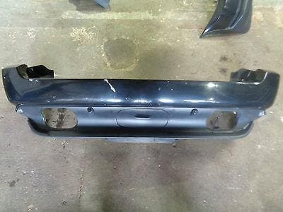 01 - 06 BMW X5 E53 REAR BUMPER WITH PARKING SENSORS BLACK SAPPHIRE 475/9
