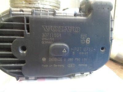 2002 - 2006 VOLVO XC90 2 9 T6 TWIN TURBO THROTTLE BODY - PART NUMBER  30711554