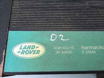 1998 - 2004 LAND ROVER DISCOVERY 2 HARMAN KARDON AMP AMPLIFIER XQK100210