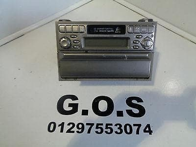 02 - 04 NISSAN X-TRAIL T30 PRE FACELIFT RADIO CASSETTE STEREO  28113 8H300 #