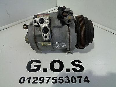 2001 - 2006 BMW X5 E53 4.4i V8 AIR CON CONDITIONING COMPRESSOR PUMP 447220-3323