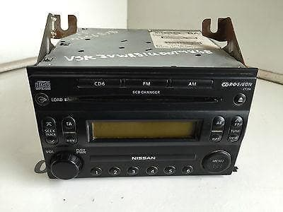 Pathfinder Radio Cd Player Stereo Head Unit R51 Nissan 28185-EB410 (2005-2010)