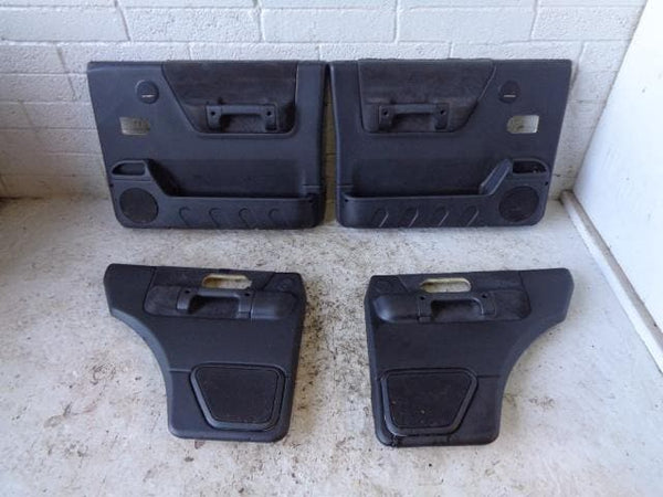 Discovery 2 Door Cards Set of x4 Black Land Rover 1998 to 2004 XXX